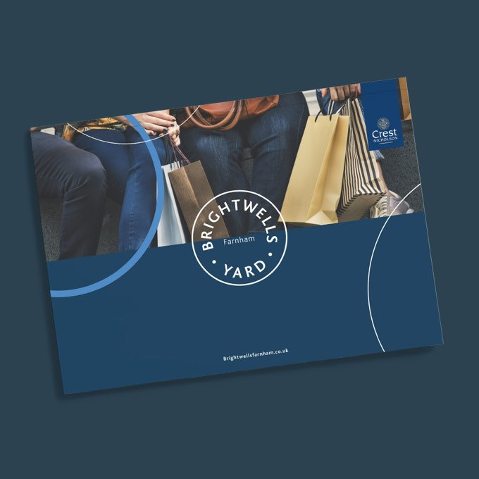 An image of the Brightwells Yard homes for sale brochure you can download by clicking on the button next to the image.