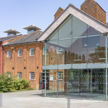 A photo of Farnham Maltings - a creative arts centre in the heart of the market town Farnham just a walk away from Brightwells Yard.